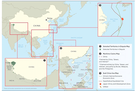 China's Disputed Territories