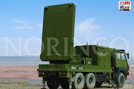 China's homegrown cannon tracking radar