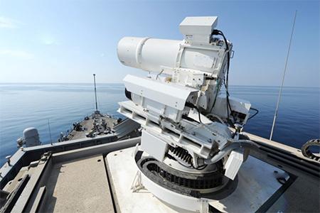 China's laser gun