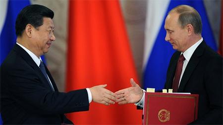 Xi Jinping & Vladimir Putin
