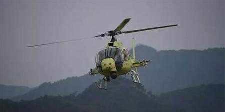 Successful maiden flight of China's Z-11WB light reconnaissance helicopter