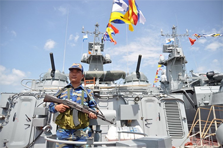 Missile boat built by Vietnam is now commissioned in Vietnamese navy