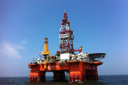 China's large homegrown deep sea drilling platform 981