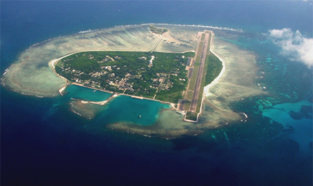 China is building artificial islands in the South China Sea