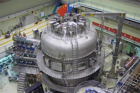 China's EAST Tokamak nuclear fusion device