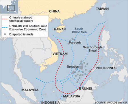 China's South China Sea Claim
