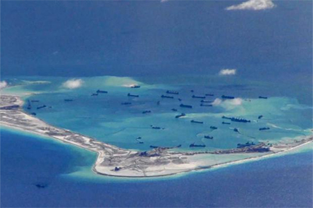 China has built a number of artificial islands in the South China Sea