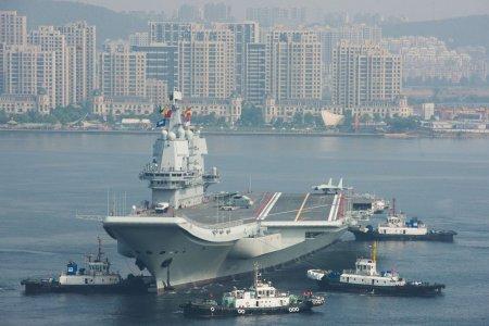 China's First Homegrown Aircraft Carrier