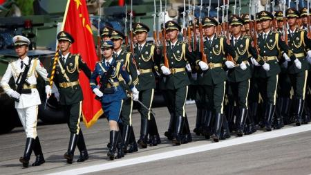 Chinese Military in Hong Kong