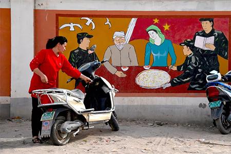 Uighurs in Xinjiang