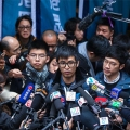 Joshua Wong and Alex Chow