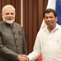 Narendra Modi and Rodrigo Duterte