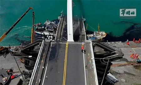 Bridge Collapse in Taiwan