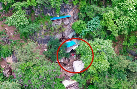 Chinese Refugee's Cave Dwelling