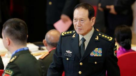 China''s Defence Minister Wei Fenghe