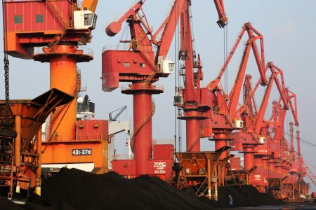 Coal At Lianyungang Port