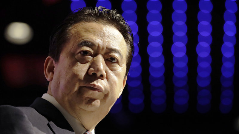 Former Interpol president sentenced to prison in China for corruption