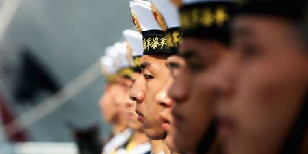 Chinese Navy Soldiers