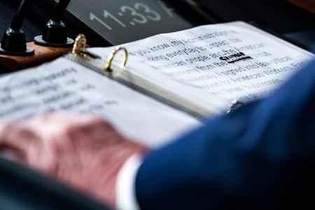 Donald Trump's Notebook