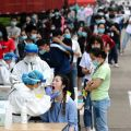 People tested for coronavirus in Wuhan
