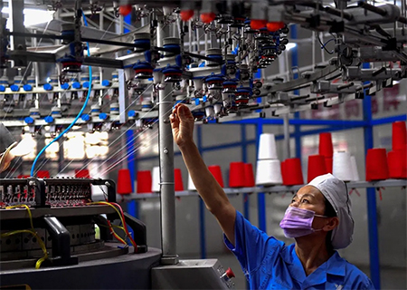 Production Worker in China