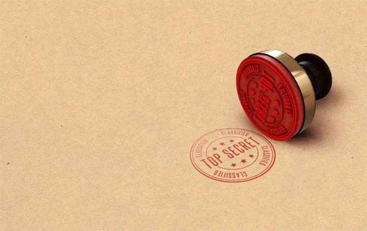 01 Top Secret Stamp