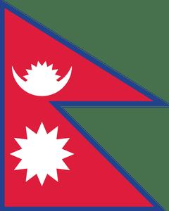 13 Nepal Flag
