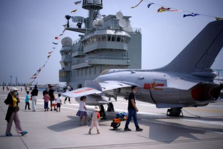 On Board a Chinese Aircraft Carrier