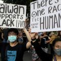 Taiwan Black Lives Matter Protest