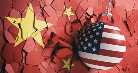 01 China Flag American Wrecking Ball