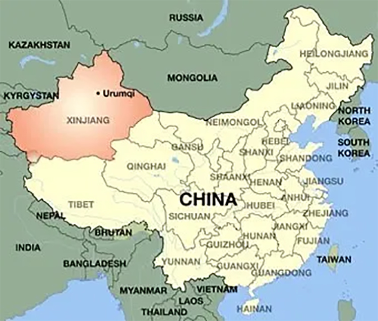 10 Xinjiang