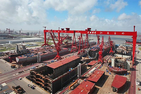Chinese Aircraft Carrier Under Construction