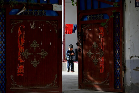 Uighur Child