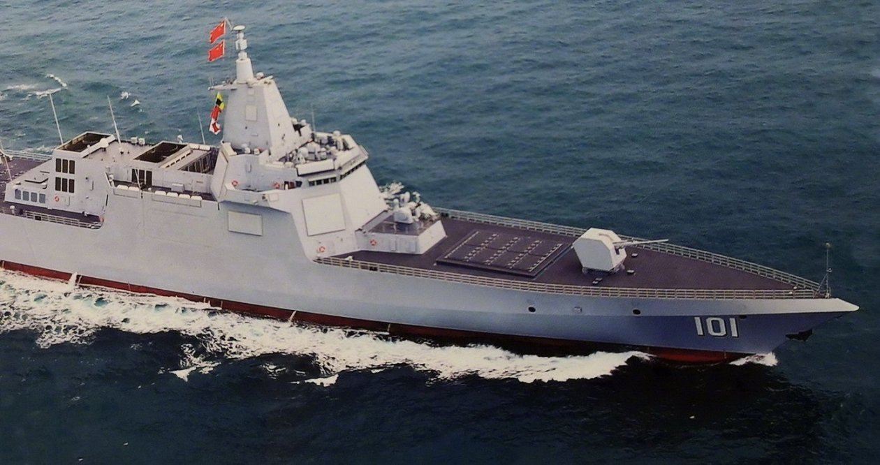 Meet China's Type 055: Beijing's very own Zumwalt Stealth Destroyer?