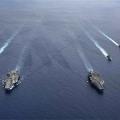 USS Ronald Reagan and USS Nimitz