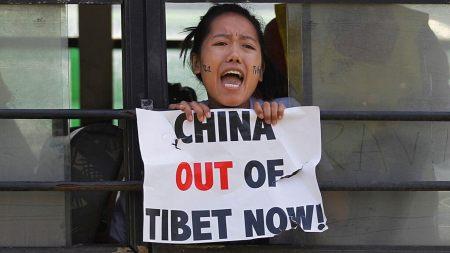 A Tibetan In Exile Yells