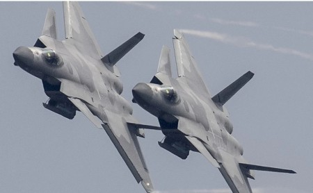 China's J-20 Fighters