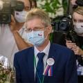 Czech Senate speaker Milos Vystrcil
