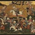 Iranian War Painting