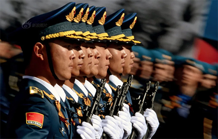 PLA Honour Guard