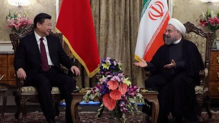 Xi Jinping and Rouhani