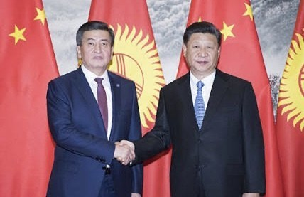 Did Xi Jinping tell Sooronbay Jeenbekov that your time is up