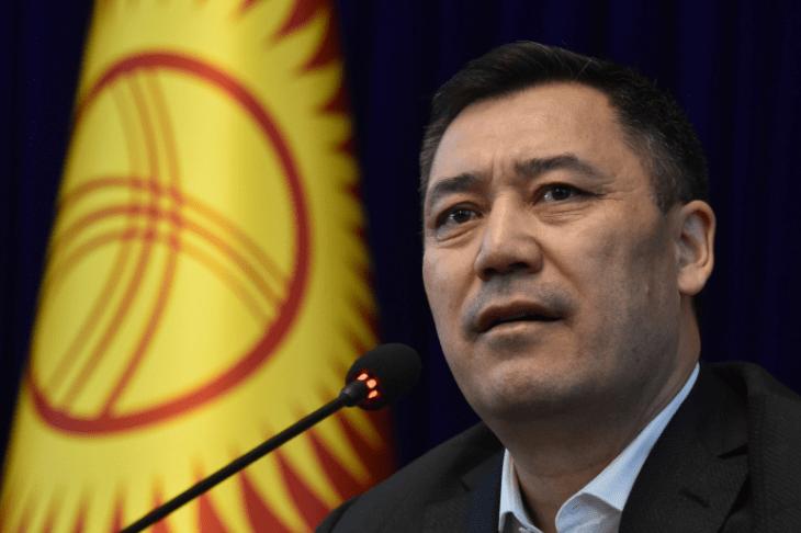 Kyrgyz Prime Minister Zaparov