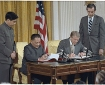Deng Xiaoping and Jimmy Carter Sign Historic Diplomatic Agreements