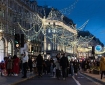 Shoppers Walk on Regent Street in London