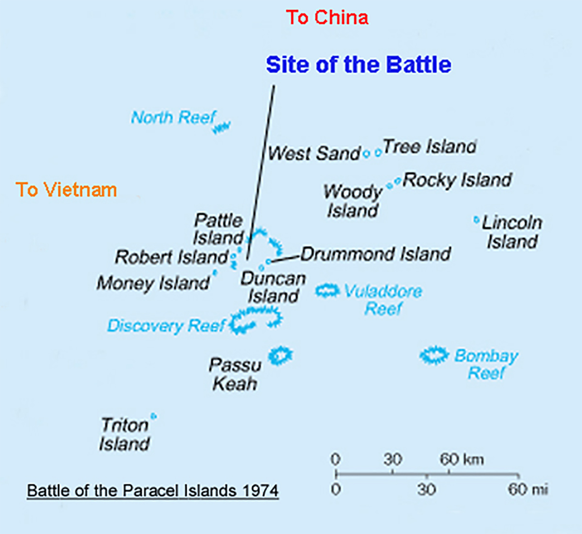 January 19, 1974 – China gains control over all the Paracel Islands after a military engagement with South Vietnam