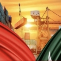 China and Pakistan Flags