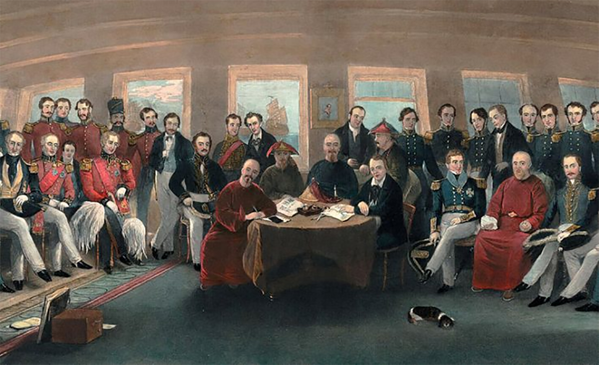 January 20, 1841 – Hong Kong ceded to the British in perpetuity