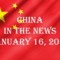China in the News January 16, 2021