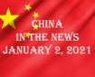 China in the News January 2, 2021